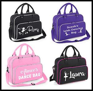 Personalised Gymnastics Girls Dance Bag Shoulder Bag Dancing bag Irish ballet