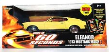 ERTL AMERICAN MUSCLE ELEANOR 1973 MUSTANG MACH 1 1:18 SCALE GONE IN 60 SECONDS