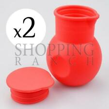 Set fo 2 Chocolate Melting Holders Silicone Microwavable Pot Baking Cooking