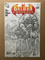 Batman Cacophony #1 2008 Sketch Variant DC Comic Book