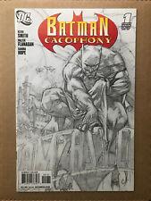 Batman Cacophony #1 2008 Sketch Variant DC Comic Book