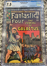 Fantastic Four 48 CGC 7.5 OW/W Pages! 1st Appearance Of The Silver Surfer