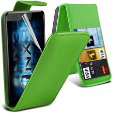 "Apple iphone 6 6s 7 + plus 5.5"" PU Leather wallet flip case pouch cover Green"