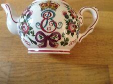 Wemyss Griselda Hill Ltd Ed Small Teapot Queen Elizabeth 11 (1952-2012 ) 1 of 60