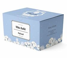 WHITE RABBIT Premium Cotton Pad (Perforated Type, 200pcs) [USA SELLER]