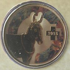 2015 UNLIKELY HEROES ANIMALS IN WAR  $1 UNC COINS -NOT ISSUED FOR CIRCULATION
