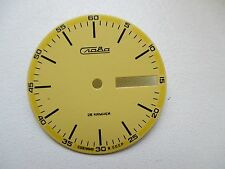 Clock face yellow Slava 26 jewels