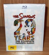 The Simpsons 20 Years The Complete Season 20 Blu-ray 4-Disc Set Brand New Sealed