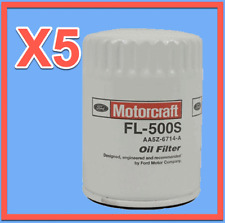 5 Genuine FORD Engine Oil Filter Motorcraft FL-500S Replace OEM# AA5Z6714A