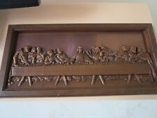 COPPERCRAFT GUILD THE LAST SUPPER RELIEF ON COPPER 21 X 10 [*ART}