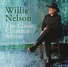 WILLIE NELSON CLASSIC CHRISTMAS ALBUM Original Audio Music CD Brand New UK Rele