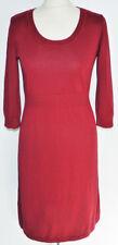 ZERO Kleid Gr.42 rot Strick Spitze ++Neu++