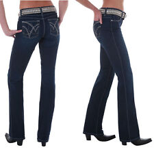 Wrangler Q-Baby Cowgirl Cut WRQ25ST Booty Up Stretch Jeans - Size 19/20 =Aus 24
