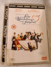Four Weddings And A Funeral (DVD, 2008)