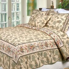 Florence 3 Piece Reversible Cotton Quilt Set, Bedspreads, Coverlet