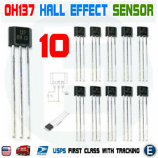 10pcs Oh137 Oh 137 Linear Hall Effect Magnetic Unipolar Sensor Switch Ic Arduino