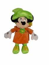 """Disney Store Minnie Mouse Plush Doll Witch Costume Halloween Foot Patch 15"""""""