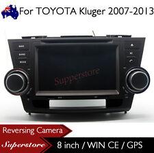 """8"""" Car DVD Nav GPS Head Unite Stereo For TOYOTA Kluger 2007-2013"""