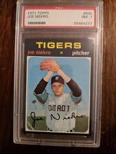 1971 Topps #695 Joe Niekro PSA 7 NM