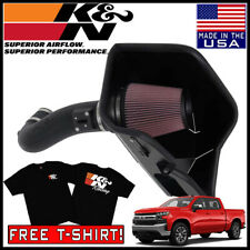 K/&N 63-3082 Aircharger Cold Air Intake 2014-2017 Chevy Silverado 1500 5.3//6.2L