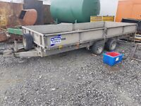 Ifor Williams LM166 Trailer - Flat dropside trailer - Flatbed