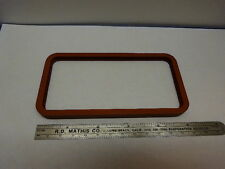 OPTICAL THICK GLASS WINDOW VIEWER SILICONE GASKET OPTICS #83-01