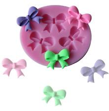 3D Bow shape Silicone Cake Molds Fondant Tools Decorating Baking Tools Mould