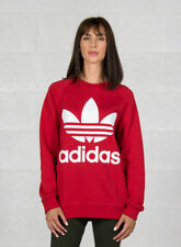 Adidas Oversized Felpa Donna Real Red 46