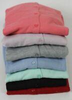 Vintage Boutique Round Neck Button Red Black Pink Blue Cardigan Soft 7 Colours