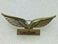 Vtg US Air Airlines Jr. Pilot Kids Flying Wings Plastic Pin Flying Souvenir