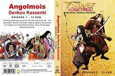 ANIME DVD~Angolmois:Genkou Kassenki(1-12End)English sub&All region+FREE GIFT