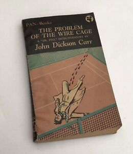 The Problem Of The Wire Cage John Dickson Carr Pan BooksPaper Back Used Dr Fell