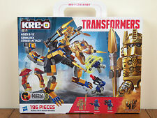 Kre-O Transformers Grimlock Street Attack Gold Optimus Prime Kreo A6955 **NEW**
