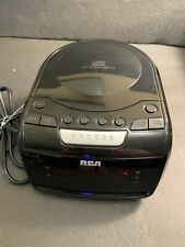 Rca Rp5605-A Digital Am/Fm Stereo Cd Clock Radio with Smart Snooze Working Great