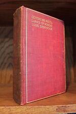 Letters & Miscellanies of Robert Louis Stevenson (1907, Hardcover) Vintage!