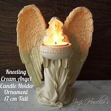 Kneeling ANGEL Figurine CANDLE HOLDER Ornament Tea Light Holder Home Decoration