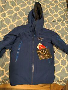 Arc'teryx Fissile Mens Medium  Triton ski Gore-Tex Down Insulated Jacket