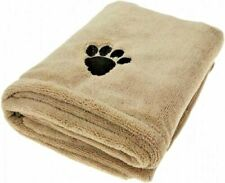 More details for large 110x61 microfiber super absorbent pet towel dog cat puppy cleaning drying
