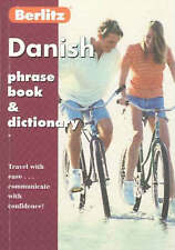 Very Good 2831577322 Paperback Berlitz Danish Phrase Book and Dictionary (Berlit