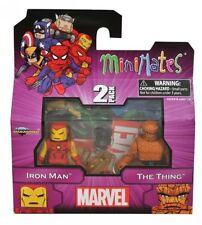 MiniMates: Marvel Best of Series 1 Iron Man and Thing Mini Figure 2-pack