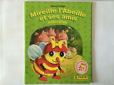 ALBUM PANINI MIREILLE L'ABEILLE ET SES AMIS 2008 VIERGE STICKERS IMAGES NEUF