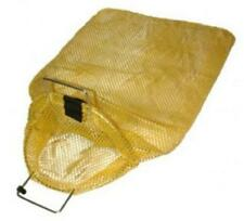Galvanized Wire Handle Mesh Bags with D-Ring- Large for Scuba or Water Sports
