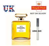 CHANEL NO.5 – Eau De Parfum Spray Bottle 10ml UK Seller Next Day Delivery