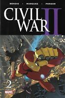 Civil War II Comic 2 Cover H Variant Third Print 2016 Marko Djurdjevic Bendis
