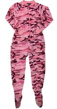 Field Tested Guide Gear animal print sleepwear one piece full body feet size m