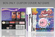 NINTENDO DS : KIRBY. ENGLISH. UNOFFICIAL COVER. ORIGINAL BOX. (NO GAME).