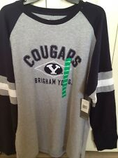 BYU Cougars Spirit Shirt Long Sleeve Adult XL 46-48 Licensed Brigham Young