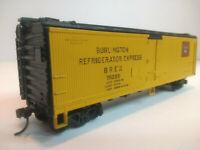 HO Athearn 40' Wooden Reefer Burlington Refrigerator Express BREX #75228