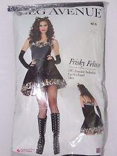 Size S/M Women's Cat Leopard Print Sexy Costume Set Cosplay Halloween Dance