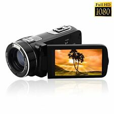 "DVC Digital Video Camera Camcorder Full HD 24mp 3"" Touchscreen Recorder 16x zoom"